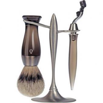 Set Rasage 3 Pieces Fumé Stand T Lames Mach 3® - E Shave