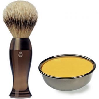 Pack Rasage Blaireau Fume & Savon À Raser - E Shave