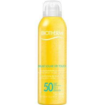 BRUME SOLAIRE CORPS NON COLLANTE SPF50 - 200 ml - Biotherm Solaires