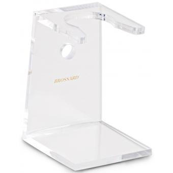 Support blaireau cristal en plexiglas - Plisson