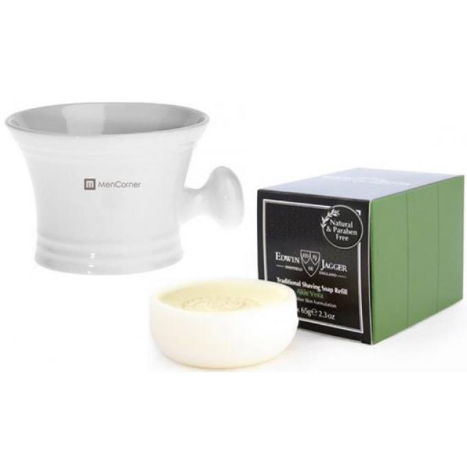 Pack recharges savon a raser grand bol a raser blanc mencorner com cr me mousse raser homme - Raser a blanc ...