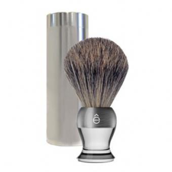 Blaireau de voyage Transparent - E Shave
