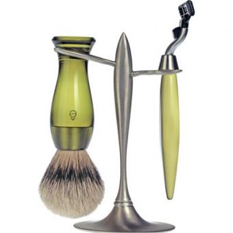 Set Rasage 3 Pieces Vert Stand T Lames Mach 3® - E Shave