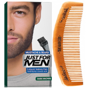 Just For Men - PACK COLORATION BARBE ET PEIGNE BARBIER Châtain Foncé - Just for men