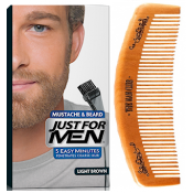 Just For Men - PACK COLORATION BARBE ET PEIGNE BARBIER Châtain Clair - Just for men
