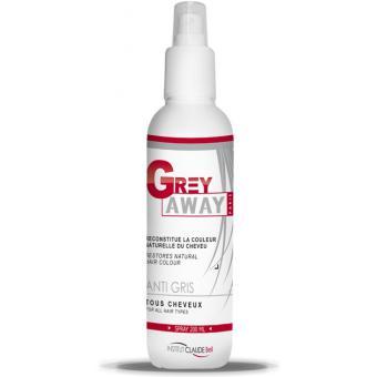Lotion Repigmentante Cheveux Gris Grey Away - Claude Bell