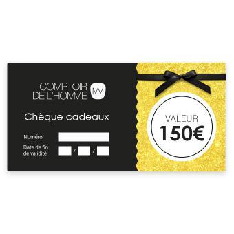 Chèque Cadeau 150€ - Comptoir de l'Homme
