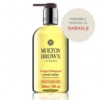 Nettoyant pour les mains Orange Bergamote - Molton Brown