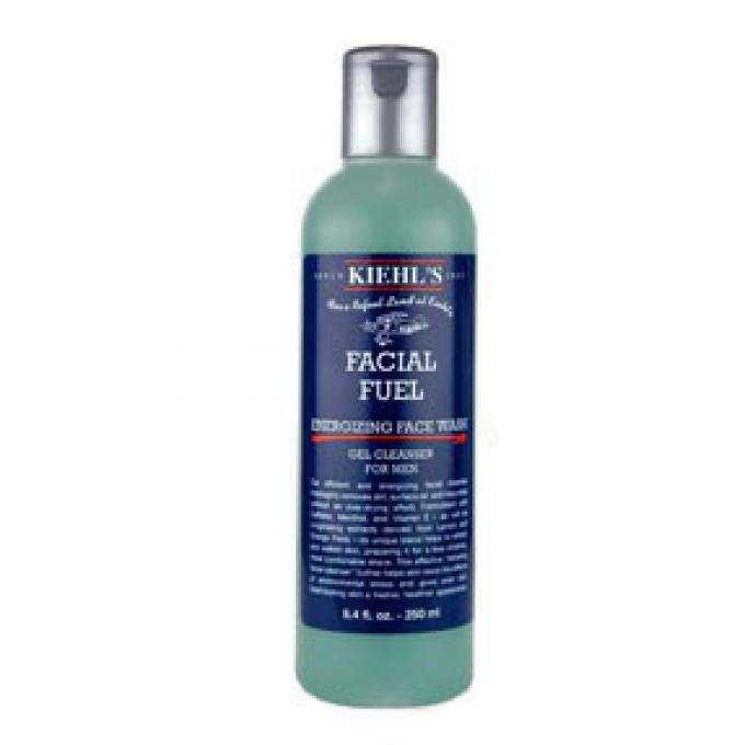 facial fuel gel nettoyant visage energisant 250 ml kiehl 39 s nettoyant visage homme. Black Bedroom Furniture Sets. Home Design Ideas