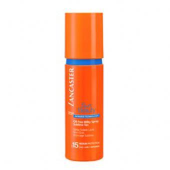 Spray Solaire Lacté non-gras SPF 15 - Lancaster Solaires