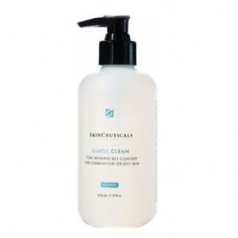 Simply Clean - Gel Nettoyant Réducteur De Pores Pour Peau Mixte Ou Grasse - Skinceuticals