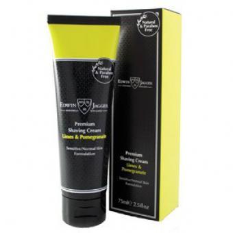 Crème de rasage Citron vert & Grenade Tube - Edwin Jagger