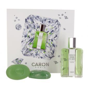 Coffret pour un homme Eau de Toilette 125ml & 2 Savons - Caron Paris