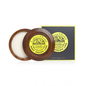 Savon à Raser Bol en Bois West Indian Lime - Crabtree & Evelyn