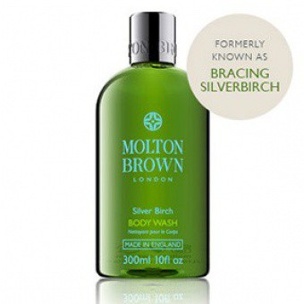 Molton Brown Homme - Gel douche vivifiant Silverbirch -