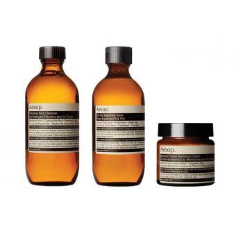 Kit Routine Zone T – Nettoyant, purifiant et hydratant - Aesop