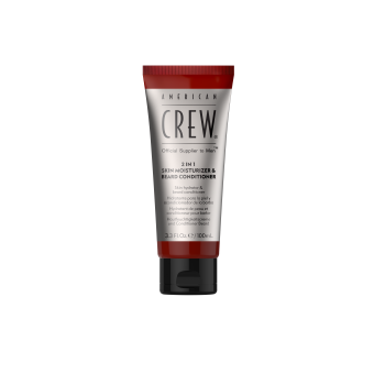 American Crew - 2in1 Moistr & Beard Cond - Hydratant Visage Et Revitalisant Barbe - Nouveautes barbe rasage homme