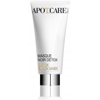 Apot.Care Homme - Masque Noir Detox - Teint Terne, Anti Rides -