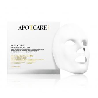 Masques Cure Anti-Age Hydratant - 4 patches - Apot.Care