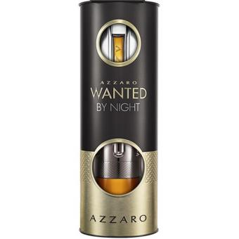 COFFRET EVENT AZZARO WANTED BY NIGHTVaporisateur Eau de Parfum 100 ml + Vaporisateur Eau de Parfum 15 ml Azzaro