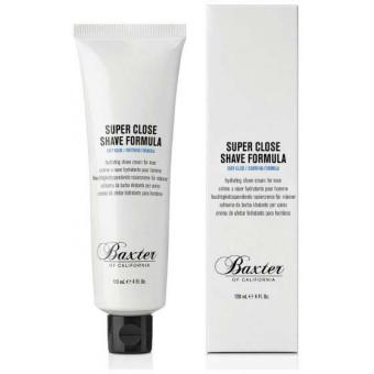 Baxter of California - Super Close Crème à Raser Hydratante 120ml - Mousse, gel & crème à raser