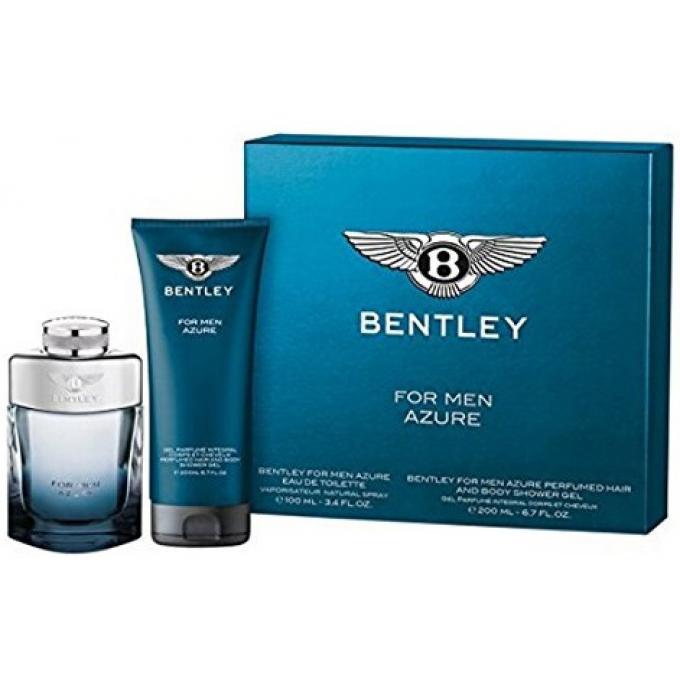 Coffret bentley azure eau de toilette gel douche bentley parfum homme - Coffret gel douche homme ...