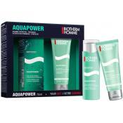 Biotherm  Homme - Coffret Aquapower Hydratation et Gel Douche -