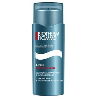 Gel Hydratant Matifiant Radical T-Pur - Biotherm Homme