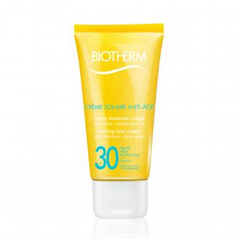 Biotherm Solaires - CREME SOLAIRE VISAGE ANTI-AGE SPF - Soins solaires homme