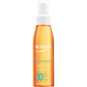 HUILE SOLAIRE SOYEUSE SPF 30 - Biotherm Solaires