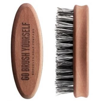 Brosse à Barbe en poils d'Agave - Brooklyn Soap Company
