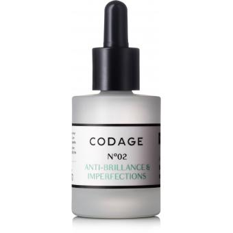 Codage - SERUM N°2 VISAGE MATIFIANT & REPARATEUR Peau Grasse - Matifiant, anti boutons & anti imperfections