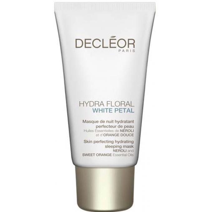 hydra floral white petal masque de nuit perfecteur de peau decleor masque visage homme. Black Bedroom Furniture Sets. Home Design Ideas