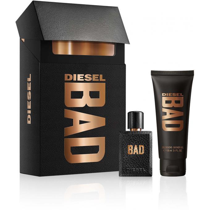 Coffret bad avec gel douche 100 ml offert diesel parfum homme - Coffret gel douche homme ...