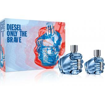 Coffret Only The Brave 75 ml Vaporisateur Offert 35 ml - Diesel