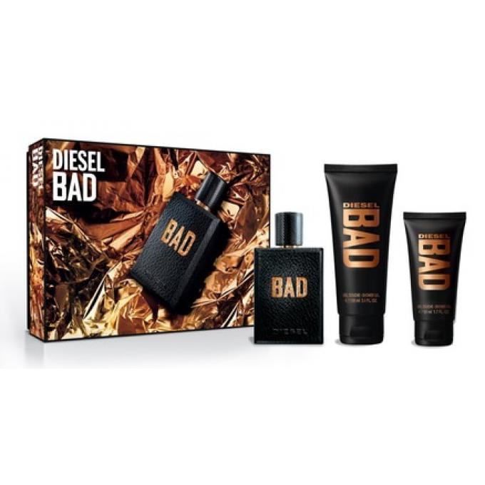 Coffret diesel bad vaporisateur 75ml gel douche 100ml gel douche 50ml diesel parfum homme - Coffret gel douche homme ...