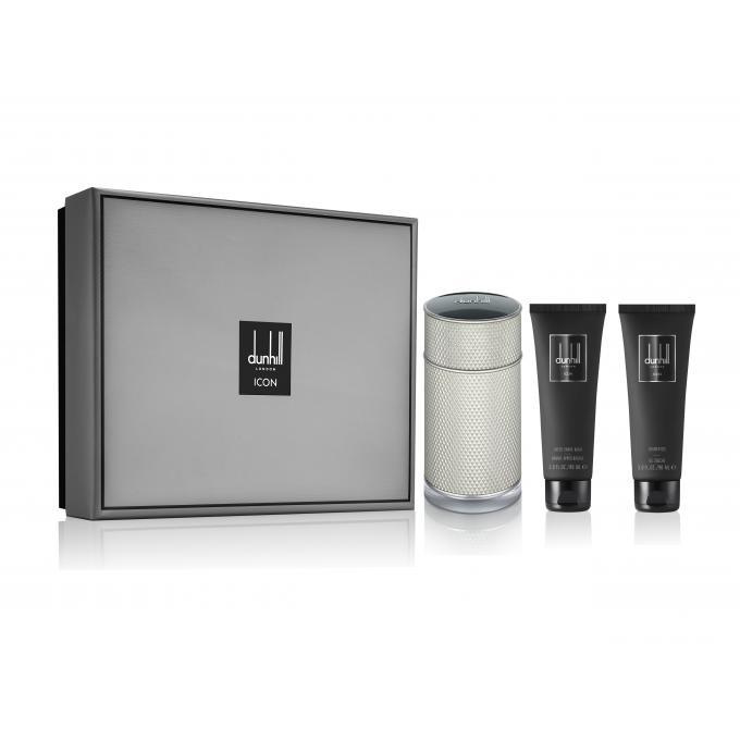 Coffret icon baume apr s rasage gel douche offert dunhill parfum homme - Coffret gel douche homme ...