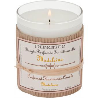 Bougie Parfumée Traditionnelle 180g Madeleine - Durance