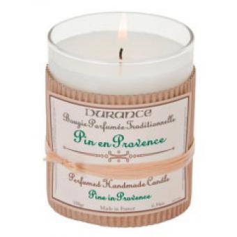 Bougie Parfumée Traditionnelle 180g Pin en Provence - Durance