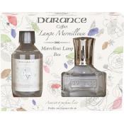 Durance Homme - Coffret découverte Lampe Transparente + Recharge Fleur de Coton 250 ml -