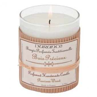 Bougie parfumée traditionnelle Bois Précieux - Durance