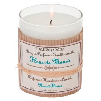 Bougie parfumée traditionnelle Fleur de Monoi - Durance