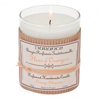 Bougie parfumée traditionnelle Fleur d'Oranger - Durance