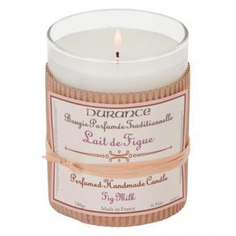 Bougie parfumée traditionnelle Lait de Figue - Durance