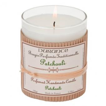 Bougie parfumée traditionnelle Patchouli - Durance