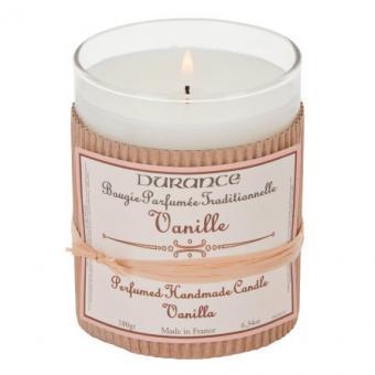 Bougie parfumée traditionnelle Vanille - Durance