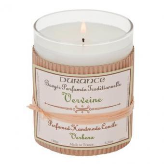 Bougie parfumée traditionnelle Verveine - Durance
