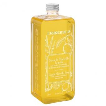 Savon de Marseille liquide Citron-Gingembre 750 ml - Durance