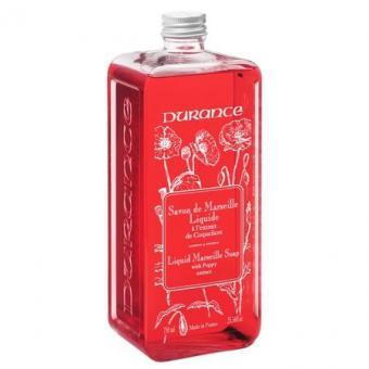 Savon de Marseille liquide Coquelicot 750 ml - Durance