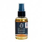 E Shave Homme - Huile avant Rasage Orange Bois de Santal -